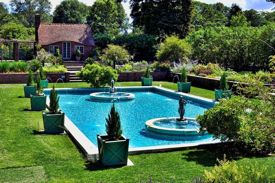 landscape designs around a pool